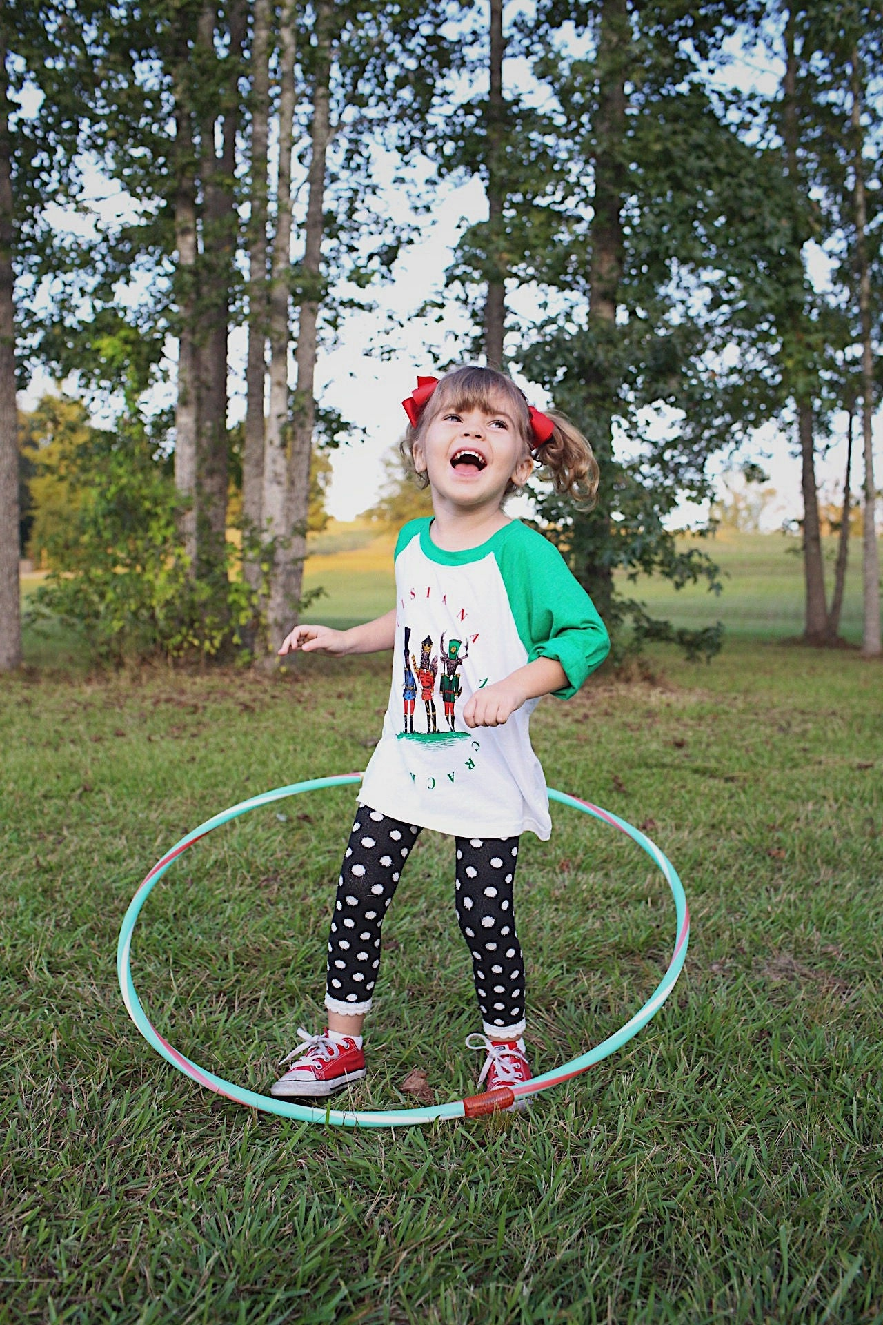 Image of Toddler/Youth Louisiana Nutcracker Raglan