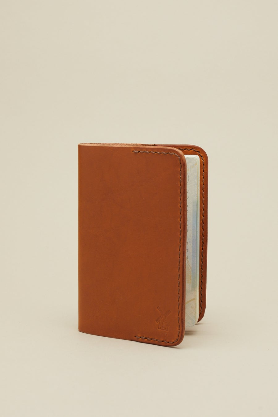 Image of Passport Case in Tan