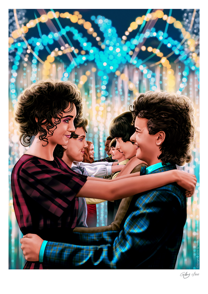 Image of Stranger Things A3 (officially licensed)