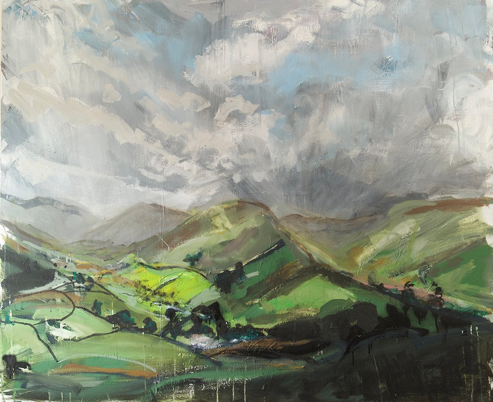 Image of Martindale from Hallin Fell (Original Painting)