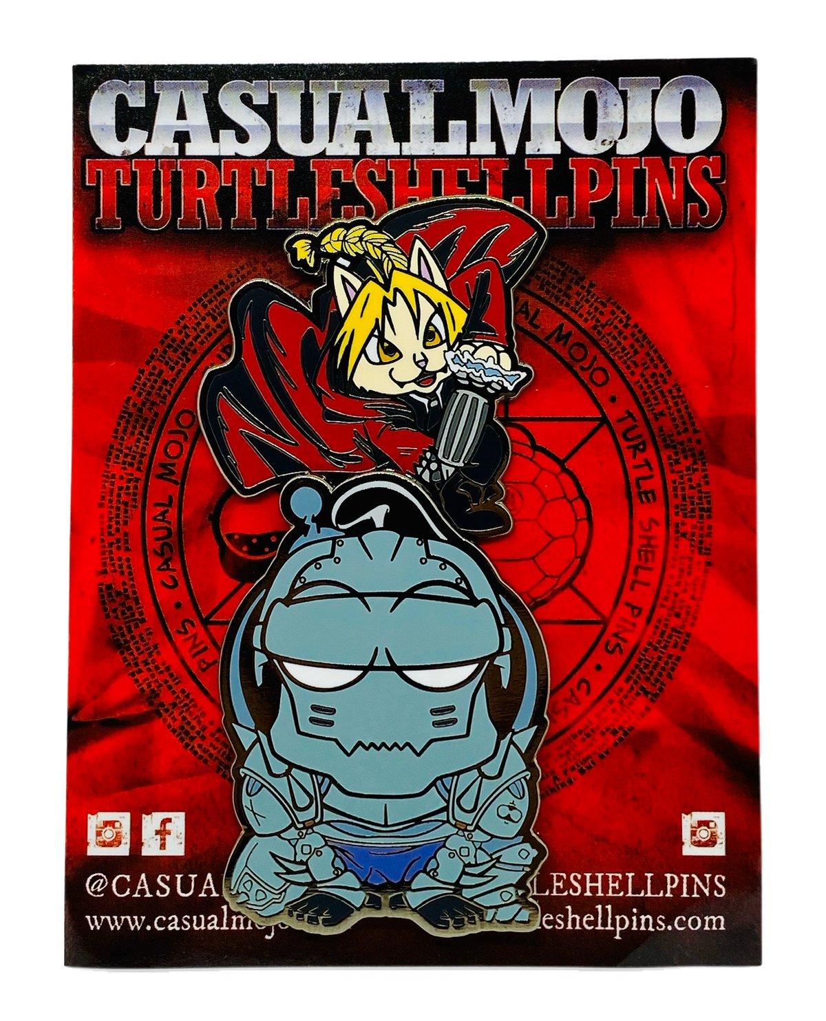 Furmetal Alchemist - The @turtleshellpins x @casualmojo 2019 Collaboration