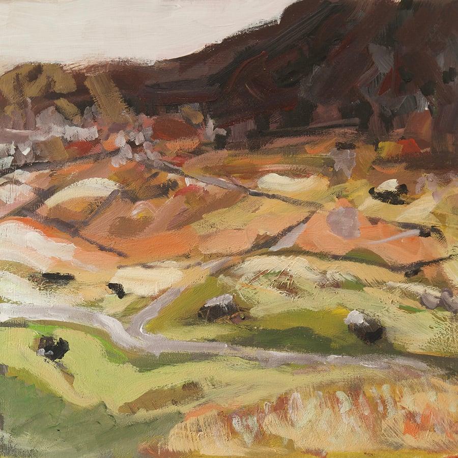 Image of Langdale Light Study (Original Painting)