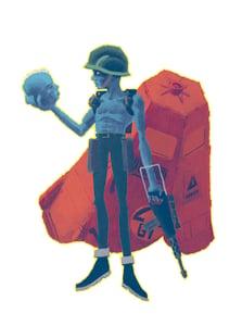 Image of Rogue Trooper A4 print