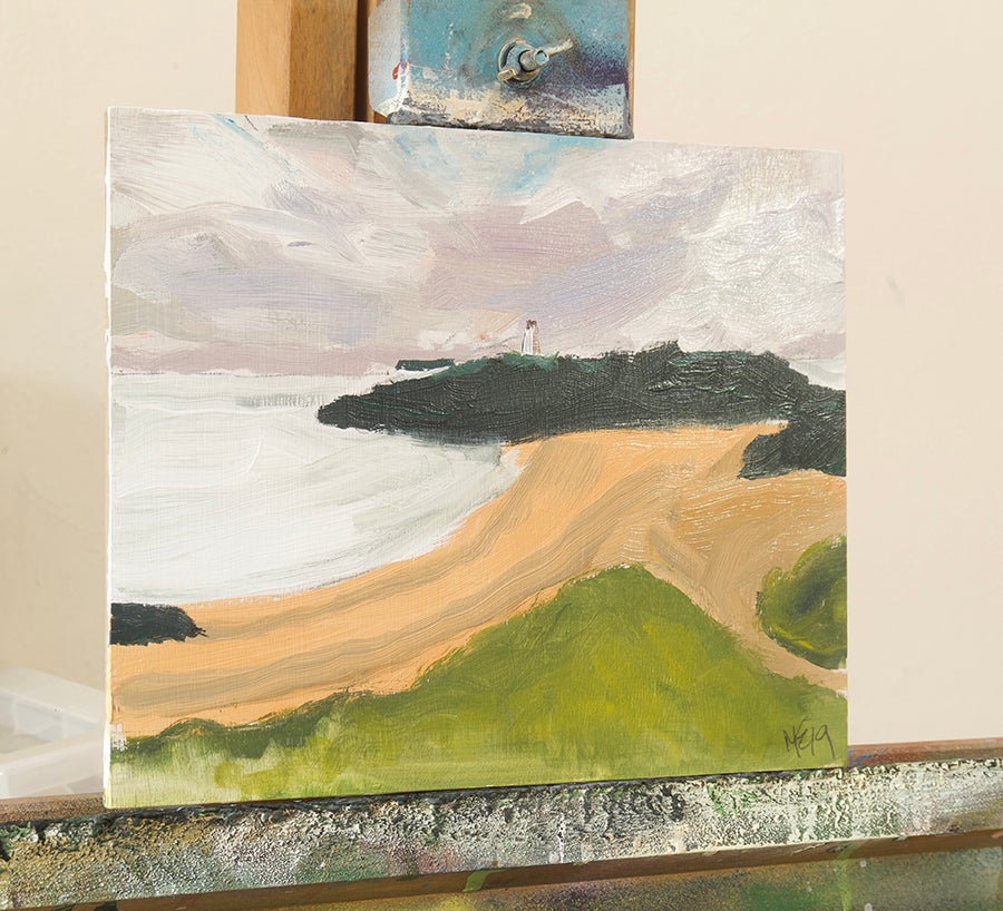 Image of Twr Bach, Anglesey (Original Painting)