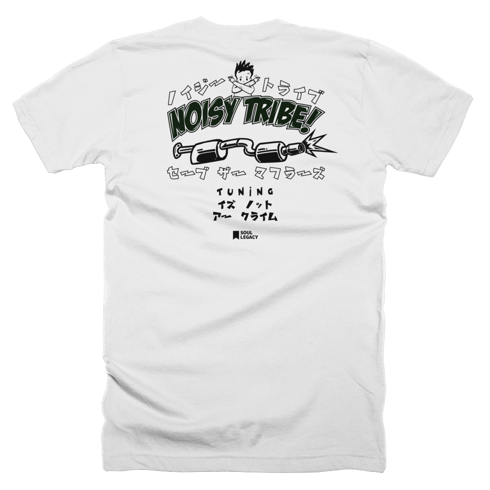 "Image of Soul Legacy ""NOISY TRIBE"" T Shirt"