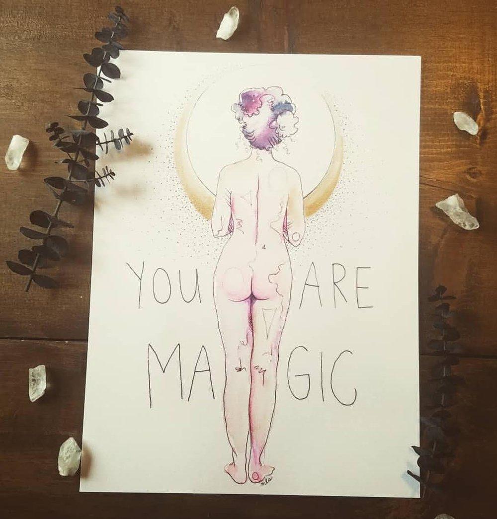 Image of You Are Magic Bum 2