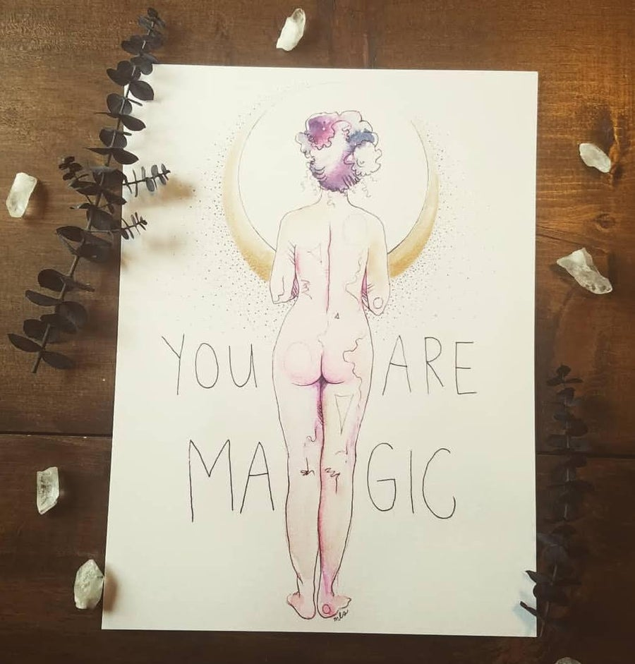 Image of You Are Magic Bum 2