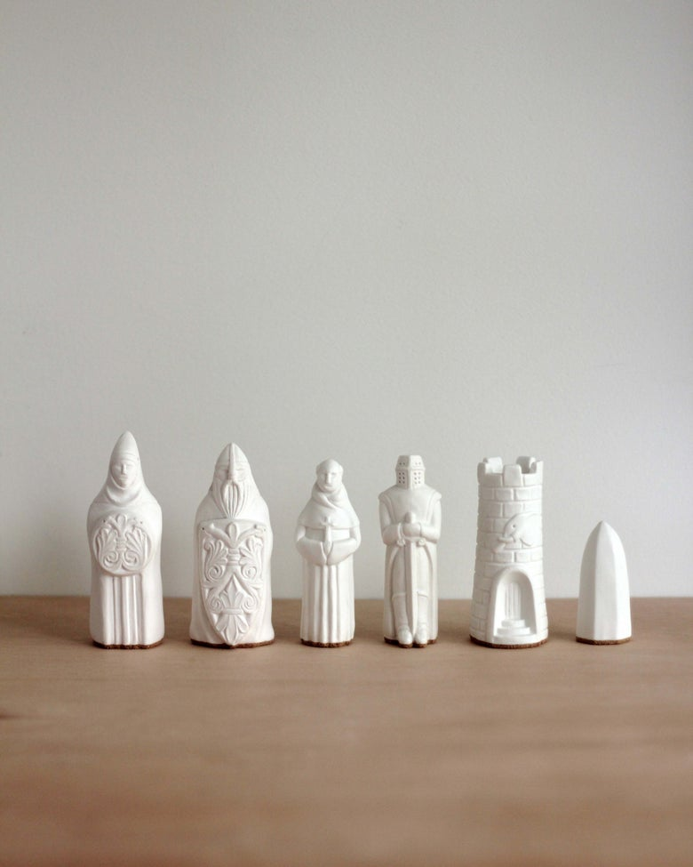 Image of Chess Figurines - White - Sold Individually