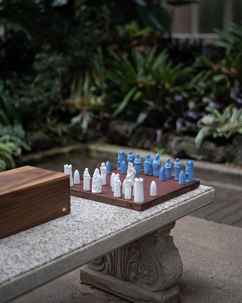 Image of Chess Set - Full Box Set with Board