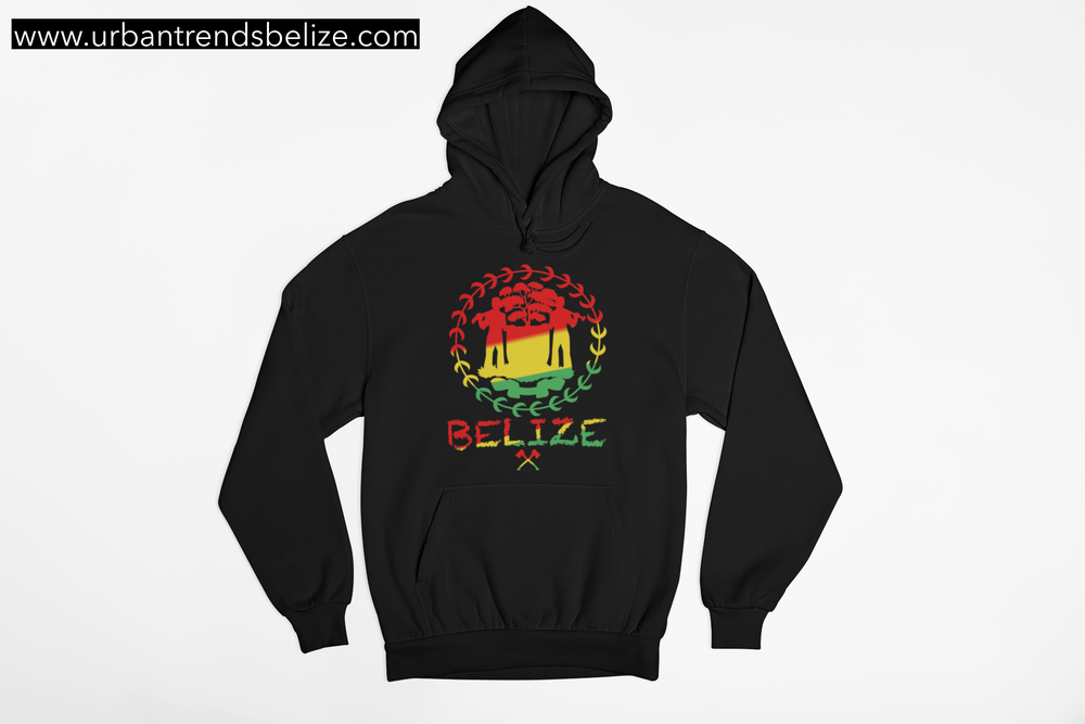 Image of BELIZE - RASTA HOODIE/CREWNECK SWEATER
