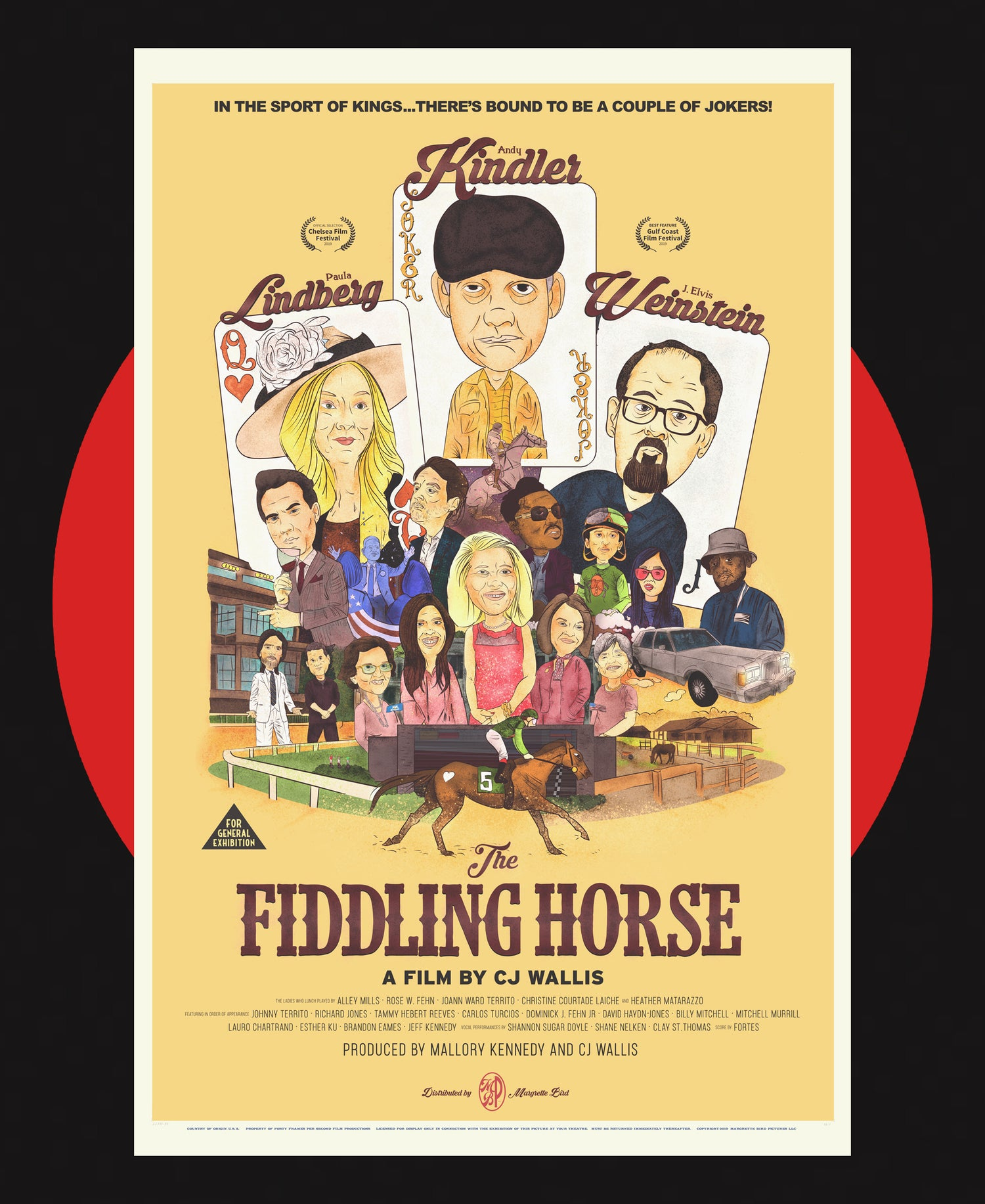 Image of THE FIDDLING HORSE - OFFICIAL POSTER