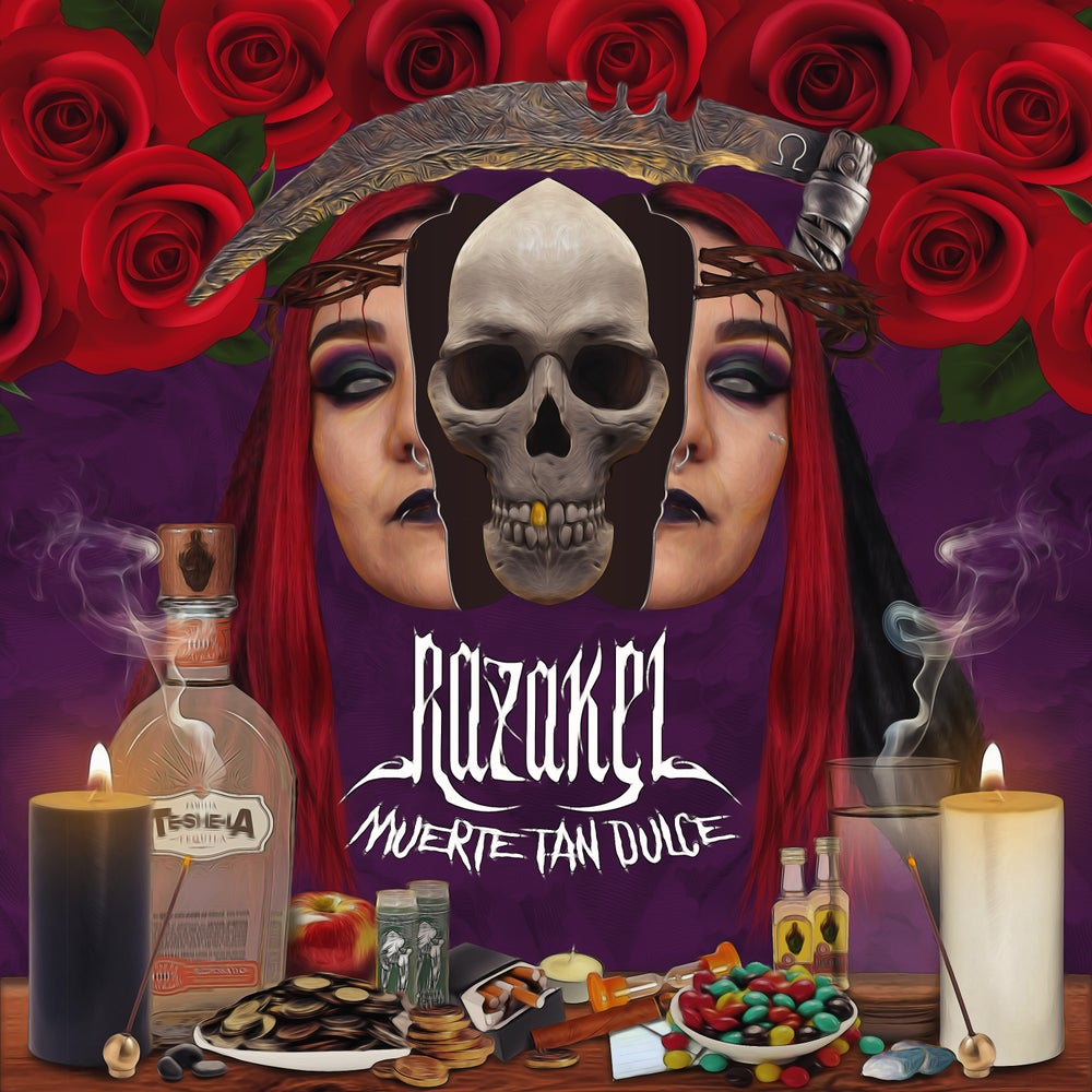 "Image of Razakel ""Muerte Tan Dulce"" Spanish Album (CD)"