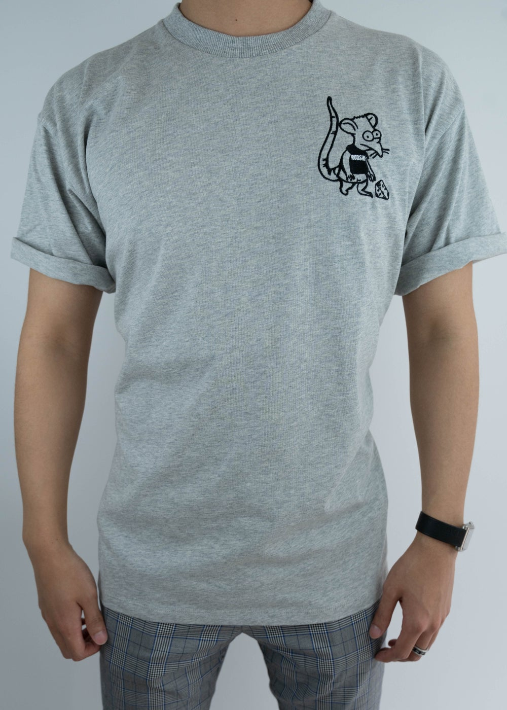 Image of Rooshi S/S Grey Ratboy