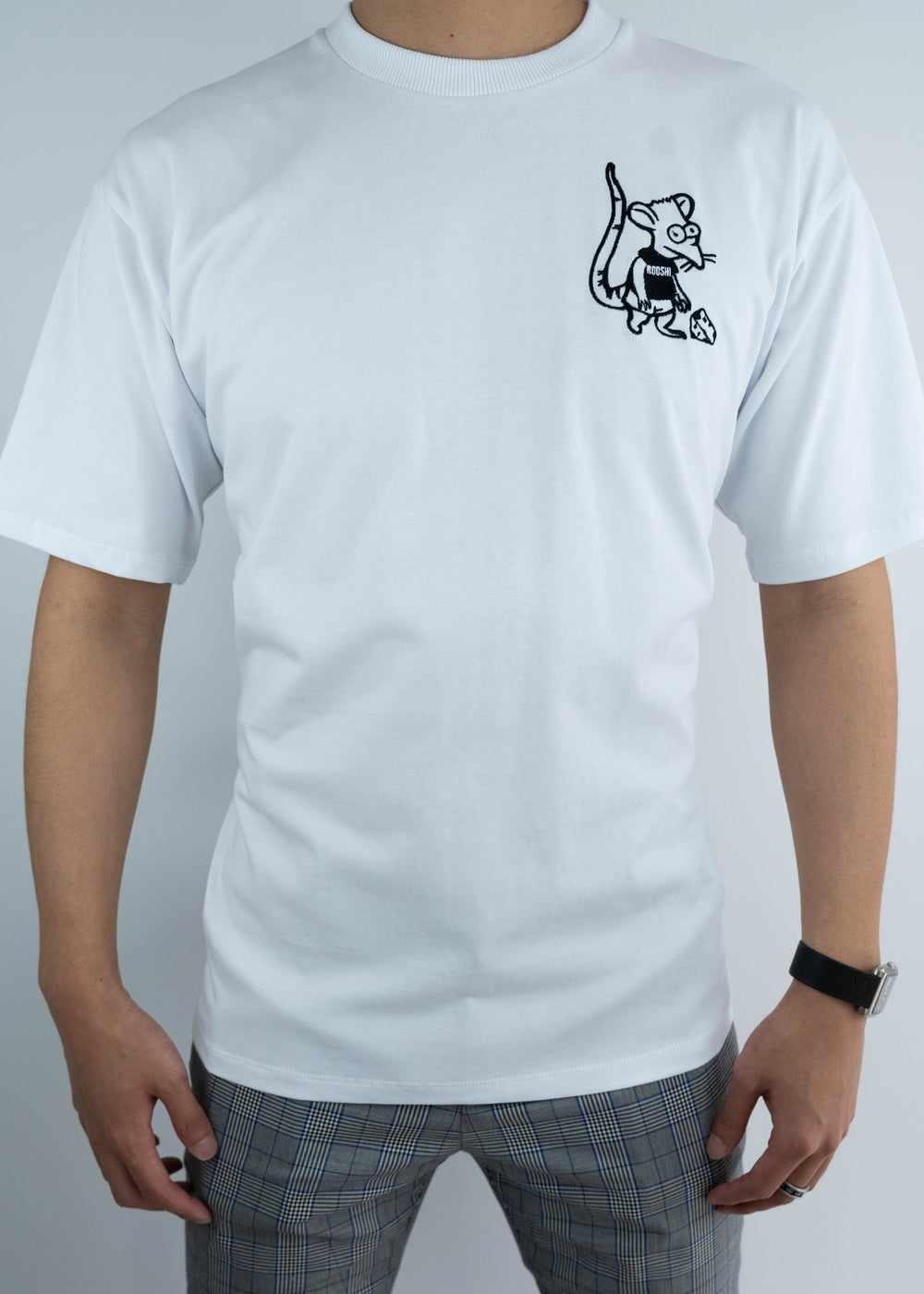 Image of Rooshi S/S White Ratboy