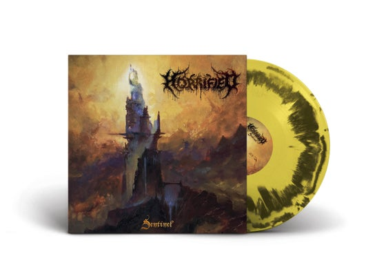 Image of Horrified • Sentinel (Yellow/Black Swirl Vinyl)