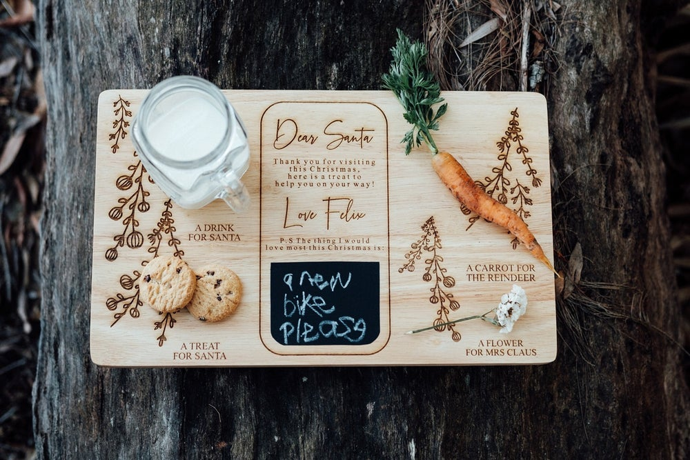 Image of SANTA'S TREAT BOARD