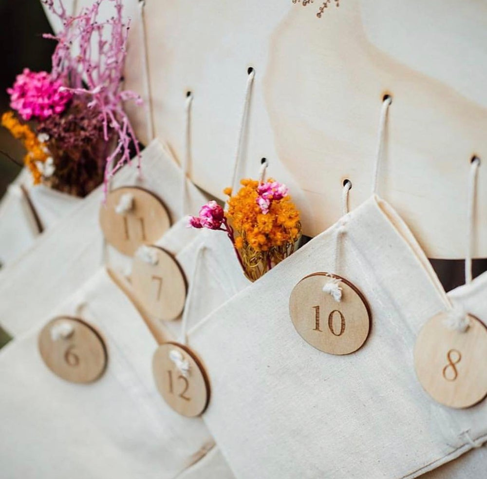 Image of DIY ADVENT- NUMBERS ONLY | 1-12 or 1-25