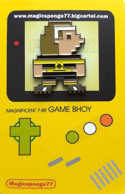 Image of Out Now Magnificent 7-Bit Power Up Pin.