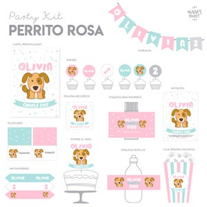 Image of Party Kit Perrito Impreso