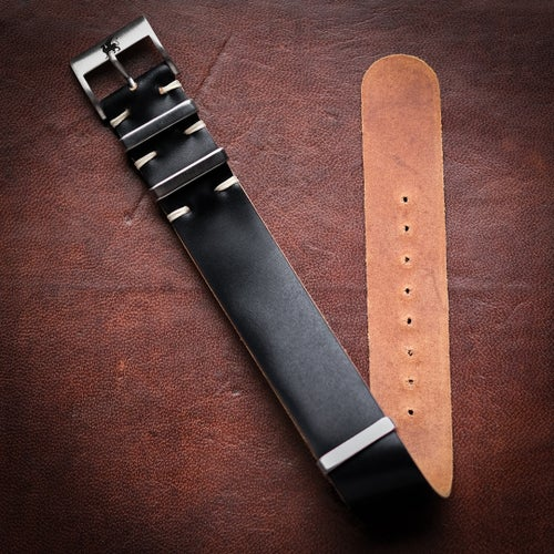 Image of Black Shell Cordovan Strap
