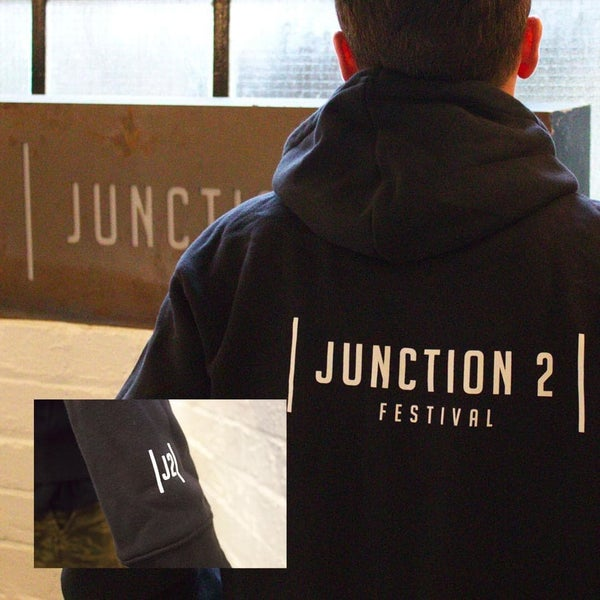 Image of Junction 2 Hoodie ( Black)