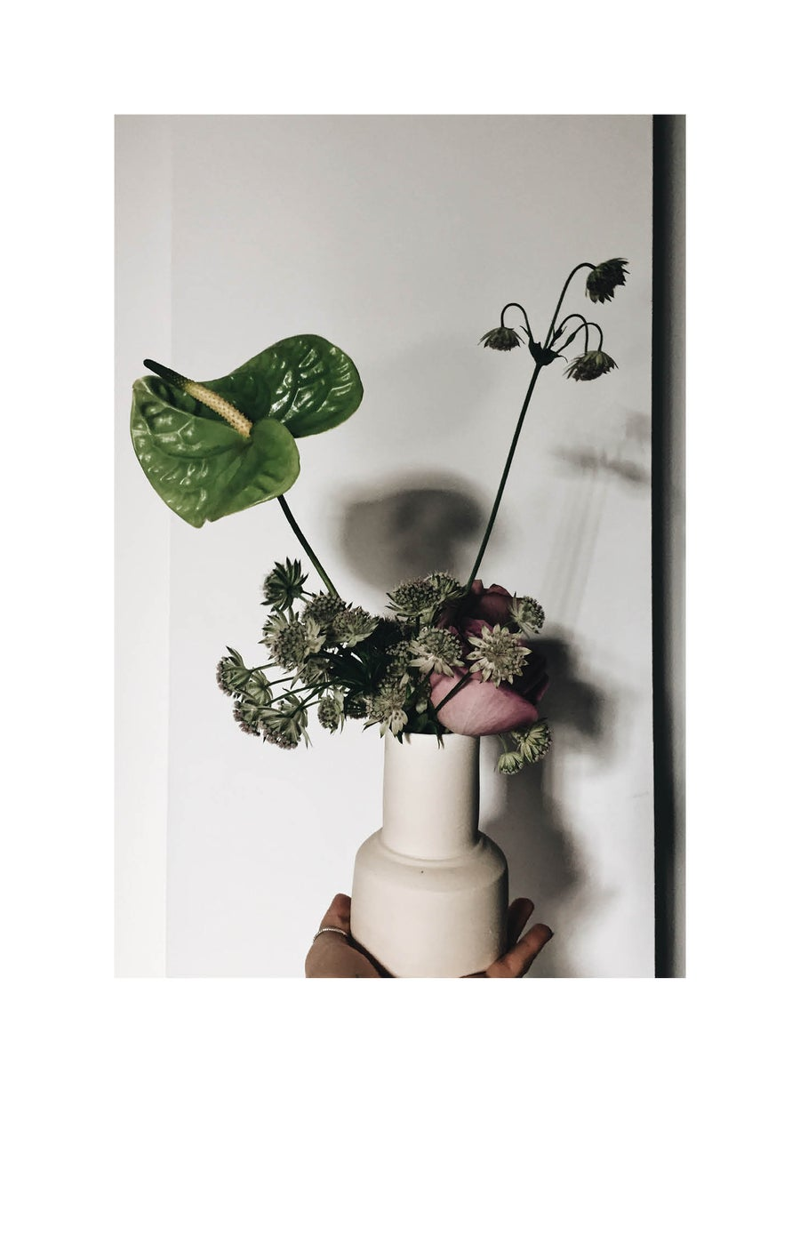Image of Little white vase