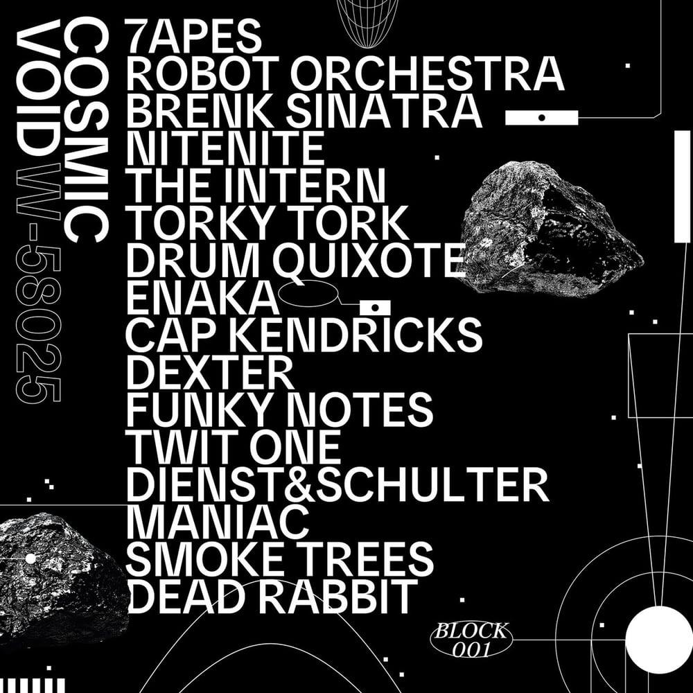 Image of Various - Cosmic Void - LP (Block Opera)