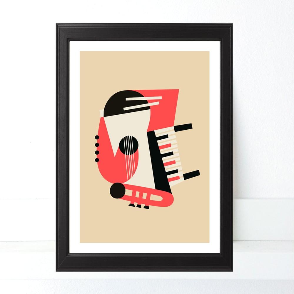 Image of Print JAZZ NO PROBLEM