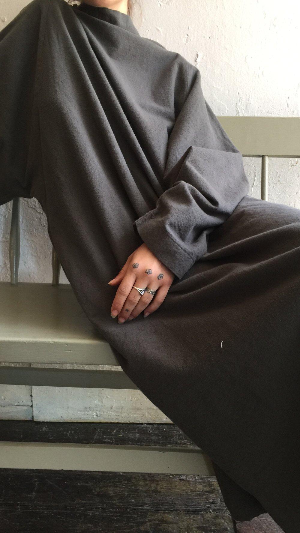 Image of Black Crane Tube Dress