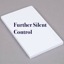 Image of Further Silent Control