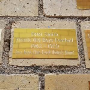 Image of Florrie Memorial Plaque