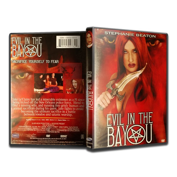 Image of Evil in the Bayou (DVD)