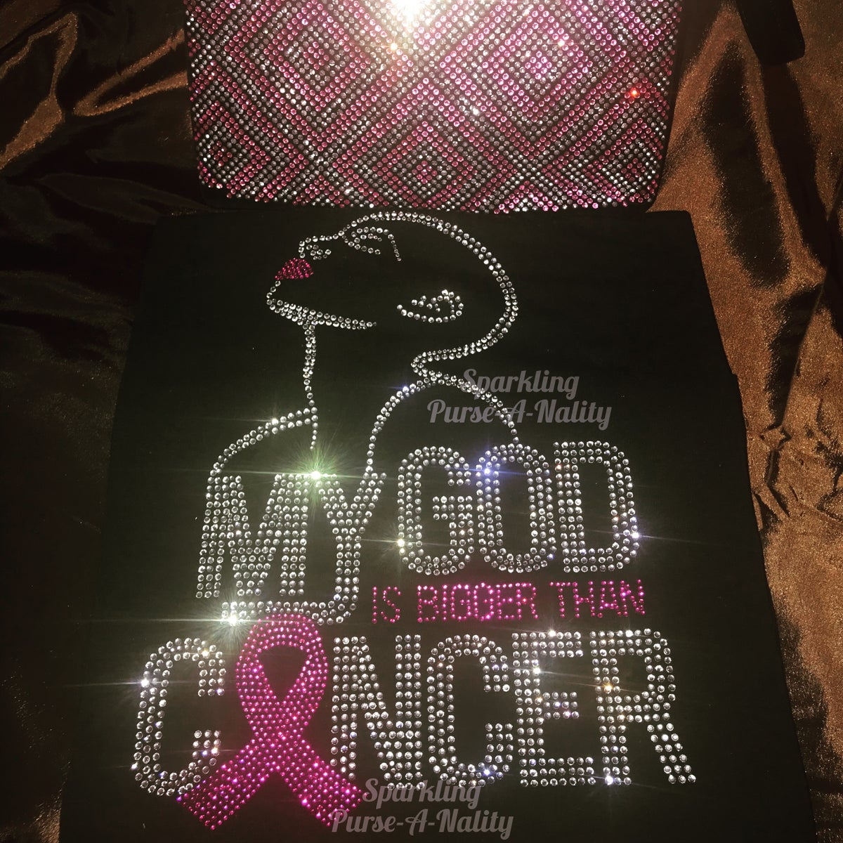 "Image of ""Sparkling"" My God is Bigger Than Cancer"
