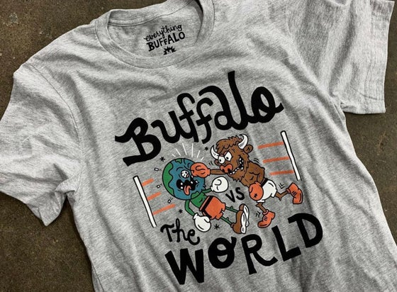 Image of Buffalo VS The World Tee