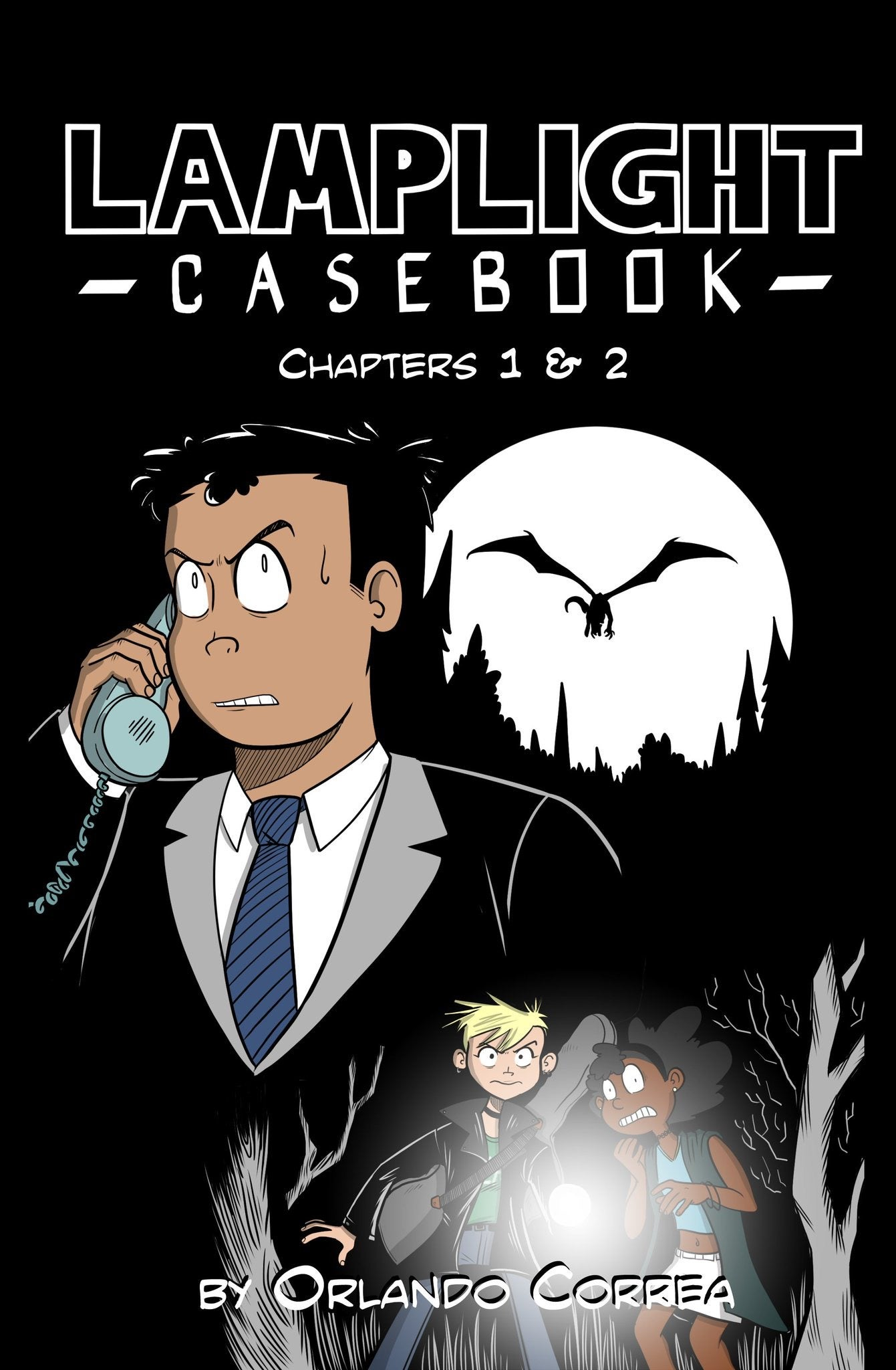 Image of Lamplight Casebook: Chapters 1 & 2