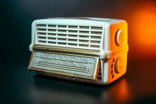 Image of ALLOCCHIO BACCHINI MOD.425 (1955) RADIO D'EPOCA BLUETOOTH