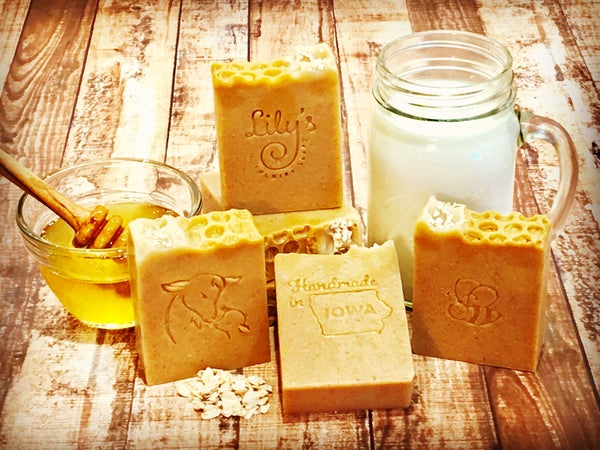 Image of Oatmeal & Honey Goat Milk Soap, unscented