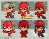 Image of Evolution of The Flash