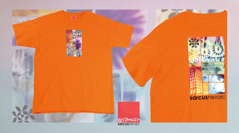 Image of Photosynthesis VHS t-shirt Orange