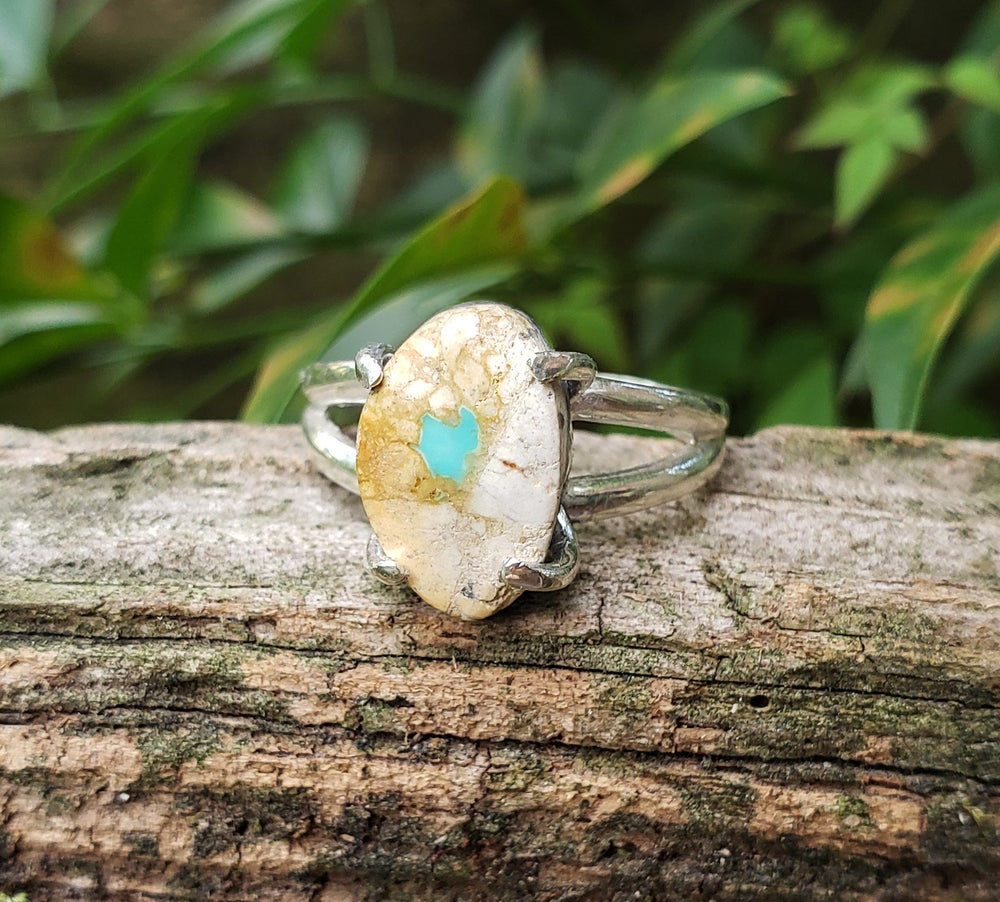 Image of Sterling Silver Royston Ribbon Turquoise