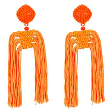 Image of TASSEL STATEMENT EARRINGS