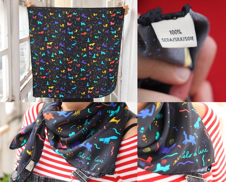 Image of Pumes Foulard/ Scarves
