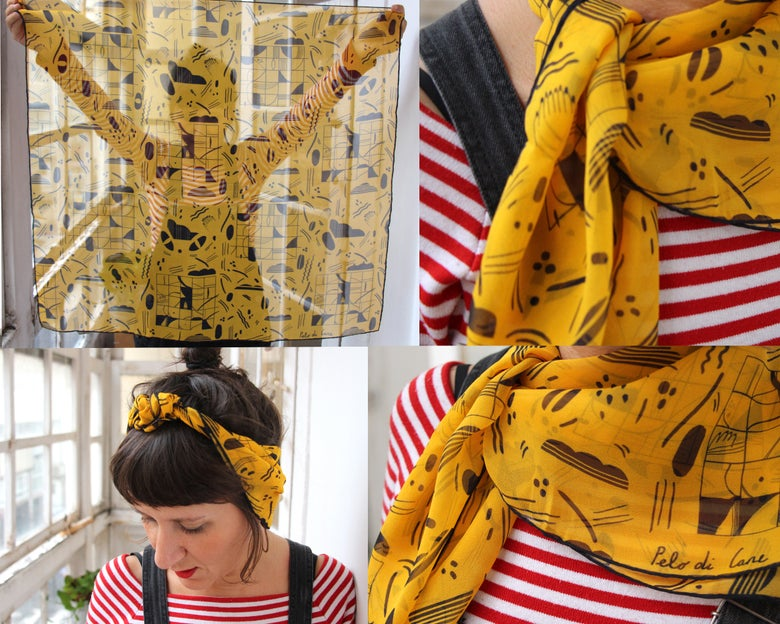 Image of Pumes #3 Foulard