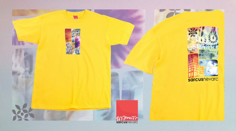 Image of Photosynthesis VHS t-shirt yellow