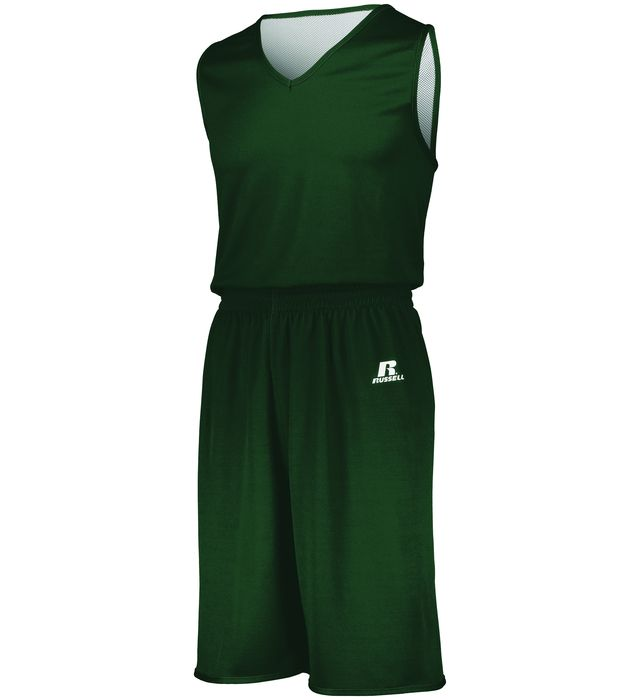 Image of RUSSELL SOLID SINGLE PLY REVERSIBLE JERSEY