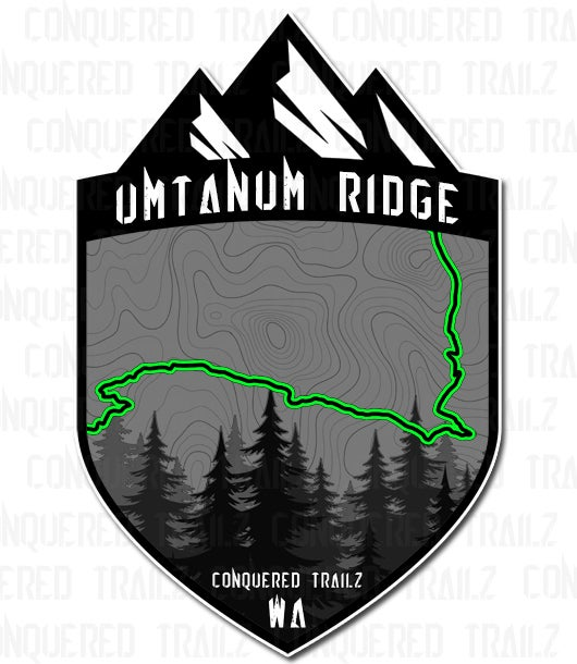 "Image of ""Umtanum Ridge"" Trail Badge"