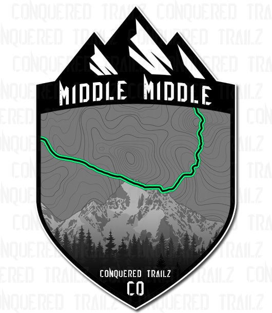 "Image of ""Middle Middle"" Trail Badge"