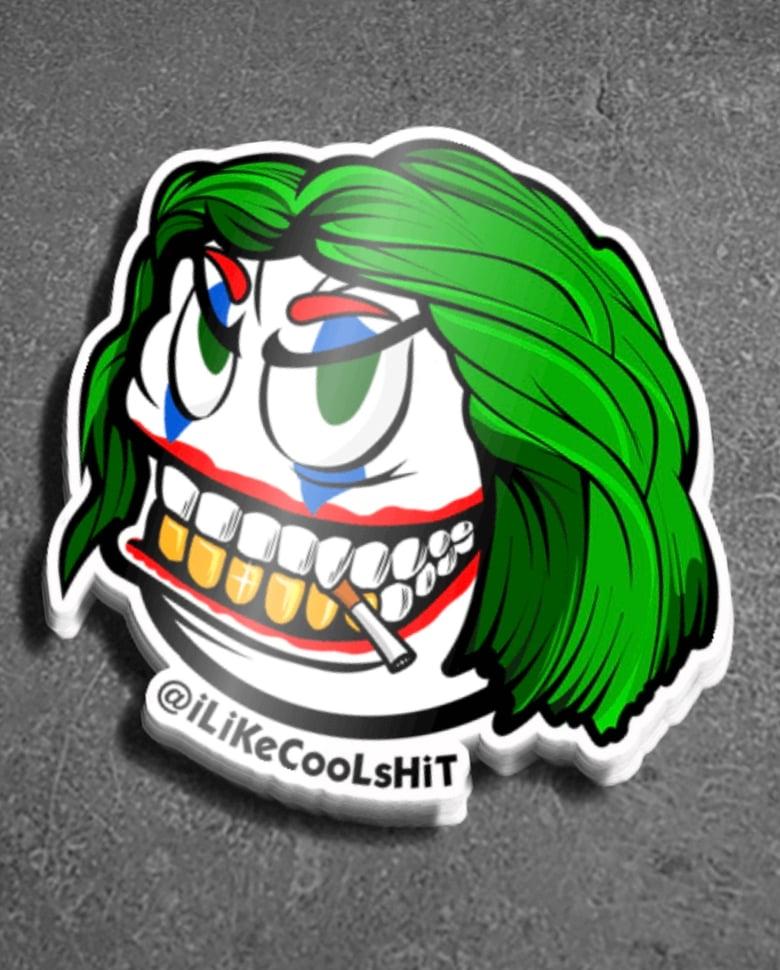 Image of Joker JoaQ SMiLee Sticker
