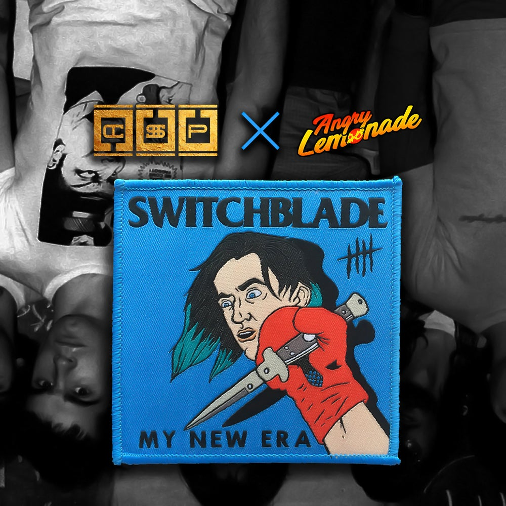 "Image of ""Switchblade"" Iron-On Patch"