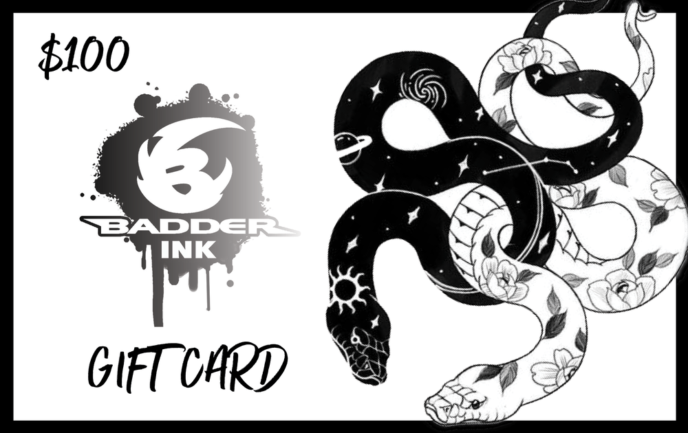 Image of $100 Badder Ink Gift Card